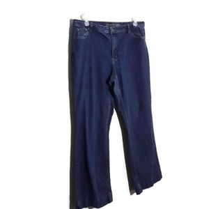 Ashley Stewart Blue Jeans size 16